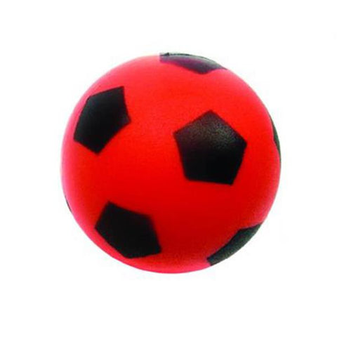 Tuftex Soft Foam Sponge Football 12cm | Red Image McSport Ireland