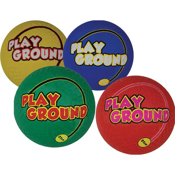 Tuftex Playground Balls | Pack of 4 | 210mm Image McSport Ireland