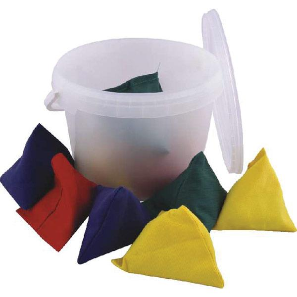 Tuftex Pyramid Bean Bag Team Colours | Pack of 12 Image McSport Ireland