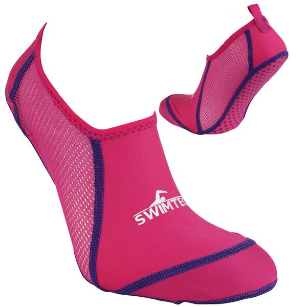 SwimTech Pool Sock | Pink Image McSport Ireland