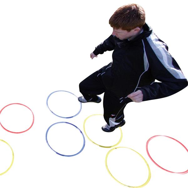 Precision Training Speed Agility Hoops Image McSport Ireland