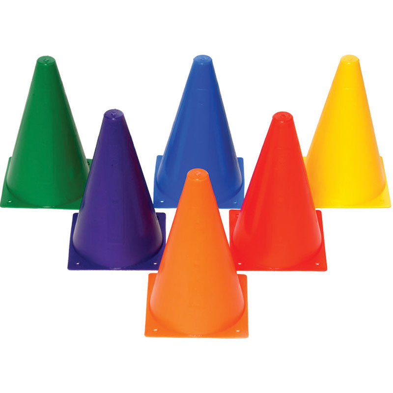Playm8 (Set Of 6) 23cm Mini Cones Image McSport Ireland