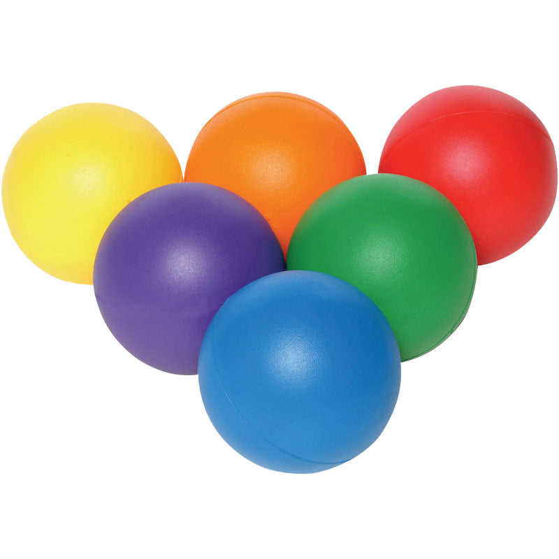 Playm8 (Set Of 6) 20cm Coated Foam Balls Image McSport Ireland