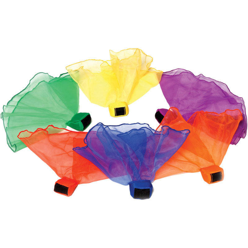 Playm8 (Set Of 6) Throwing Scarves Image McSport Ireland