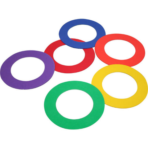 Playm8 (Set Of 6) Doughnut Rings (6) Image McSport Ireland