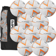 Precision Training Fusion Lite 290g Footballs 10 Pack + Free Bag Image McSport Ireland
