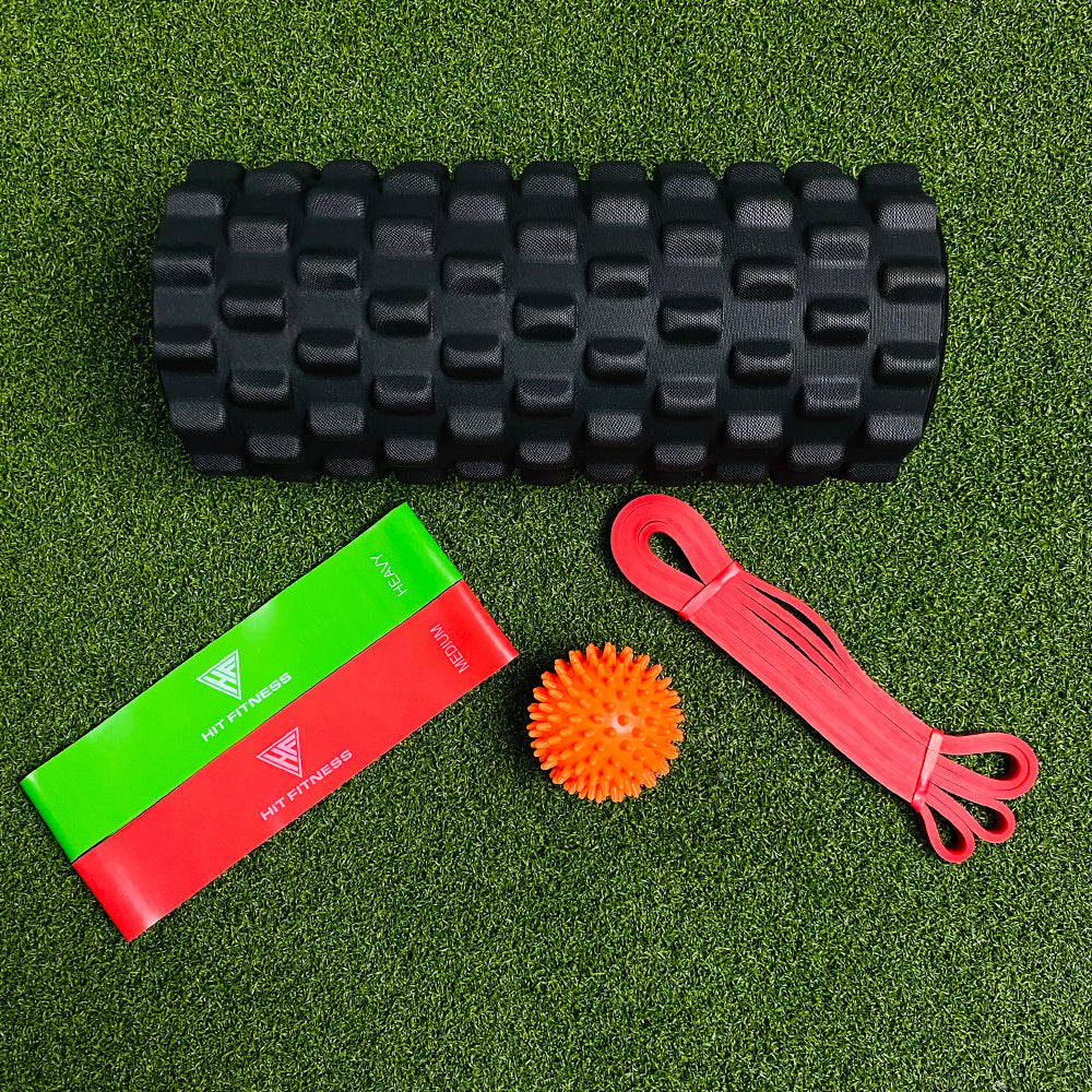 McSport Recovery Pack | Foam Roller Mobility Tools & Bag Image McSport Ireland