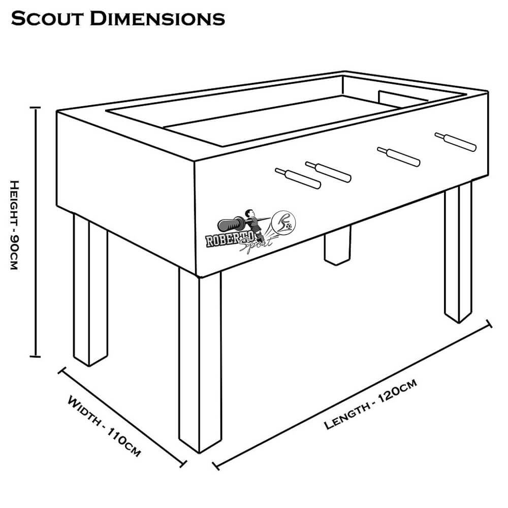 Roberto Football Table | Scout Image McSport Ireland