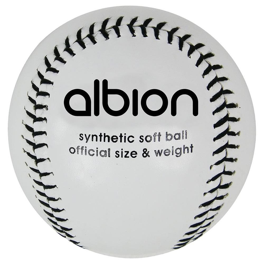 Albion Synthetic Softball Ball Image McSport Ireland