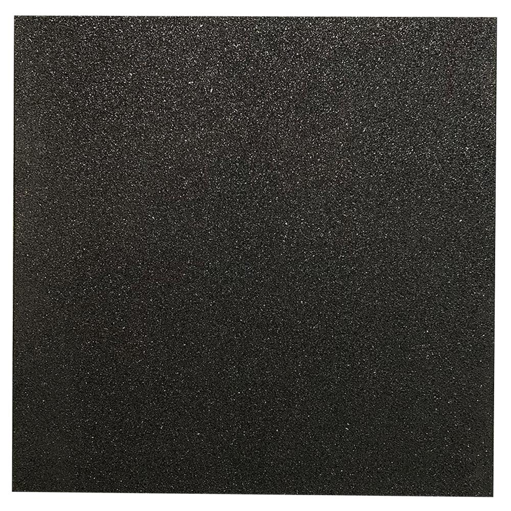 Rubber Flooring Tile | 1M x 1M x 15MM Image McSport Ireland