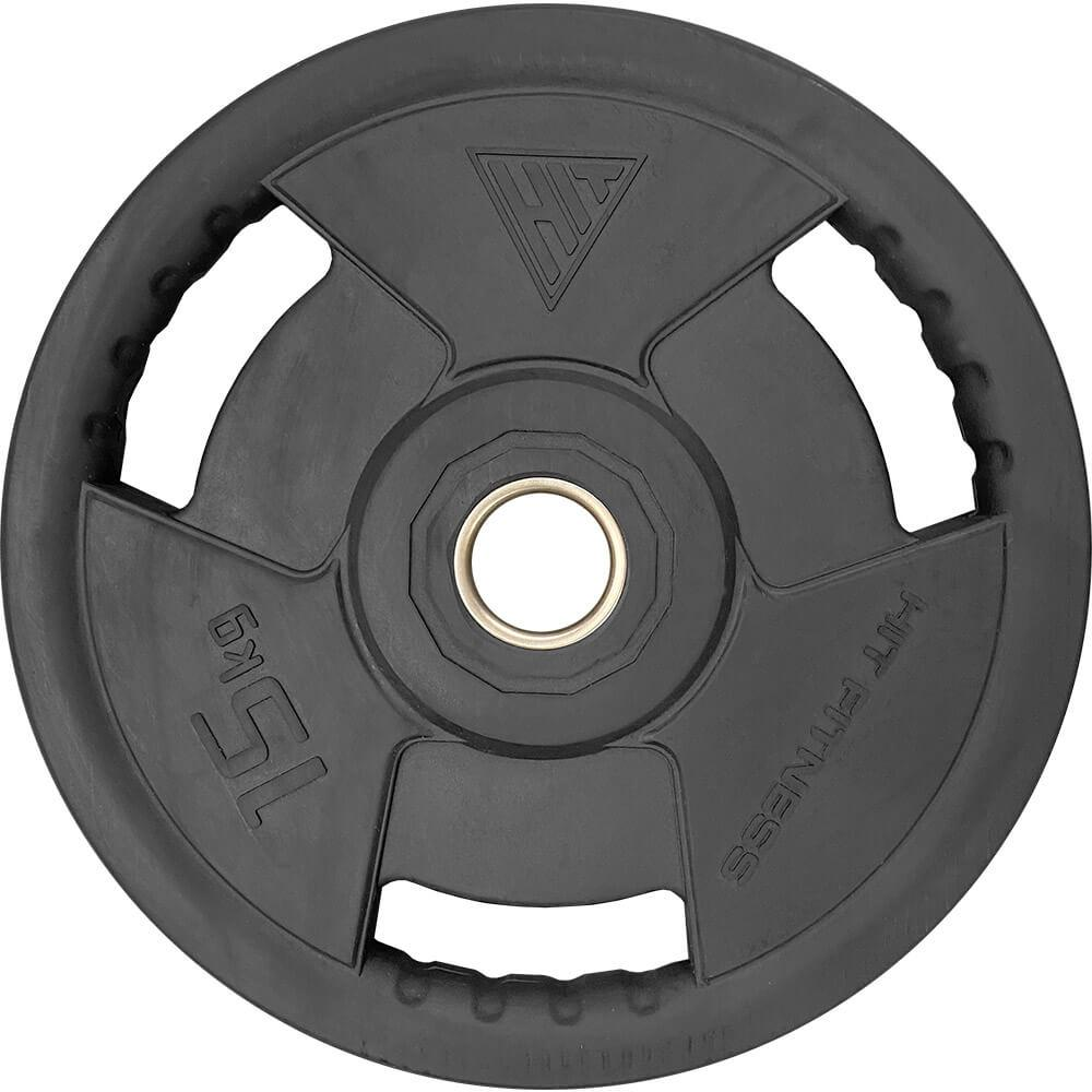 Rubber Radial Olympic Weight Discs | 15kg Image McSport Ireland