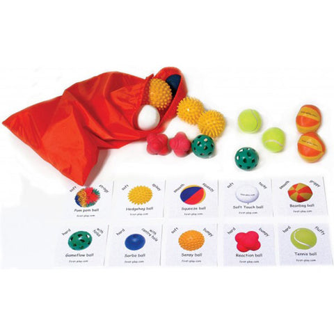 First-Play Tactile Ball Pack | (20 Ball Pack) Image McSport Ireland