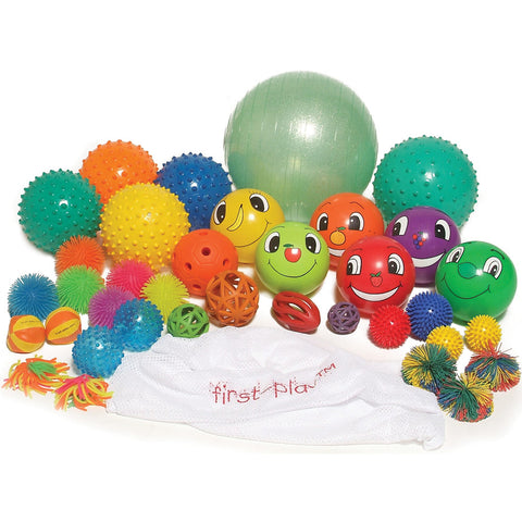 First-Play Multi-Sensory Ball Pack | (36 Ball Pack) Image McSport Ireland