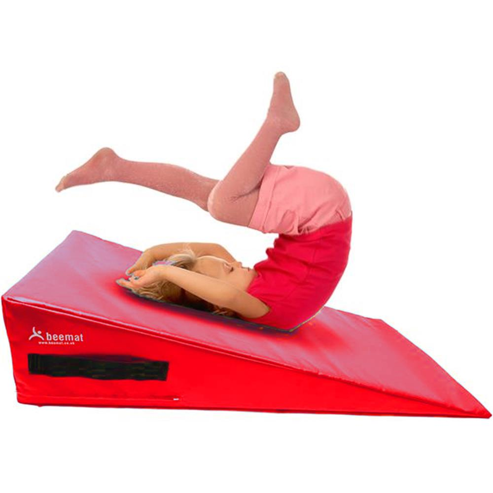 Beemat Gymnastic Mini Incline Wedge | Red Image McSport Ireland