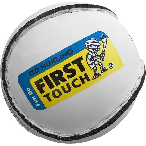 First Touch Kids Sliotar U8's | 12 Pack Image McSport Ireland