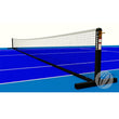 Harrod Steel Freestanding Tennis Posts | Black Image McSport Ireland
