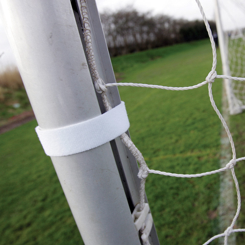 Precision Training Velcro Net Fasteners | 6ft x 4ft | White Image McSport Ireland