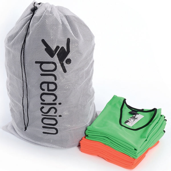 Precision Training Bib Wash/Carry Bag (White) Image McSport Ireland