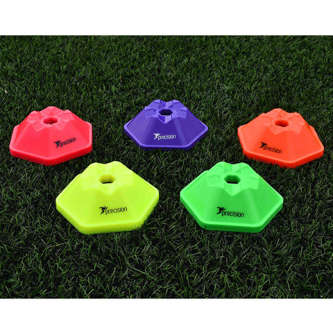 Pro Hex Flat Markers | 50 Assorted Colours Image McSport Ireland