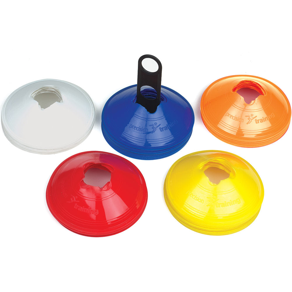 Precision Training Saucer Cones (Assorted Colours) | 50 Pack Image McSport Ireland