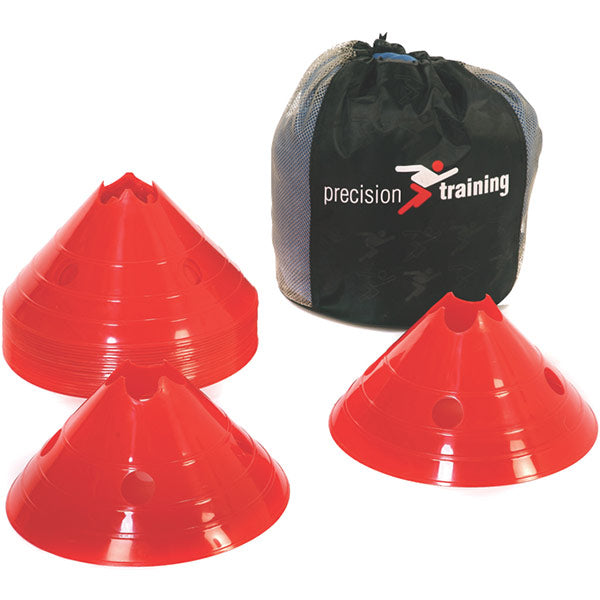 Precision Training Giant Saucer Cone Set (20) | Red Image McSport Ireland