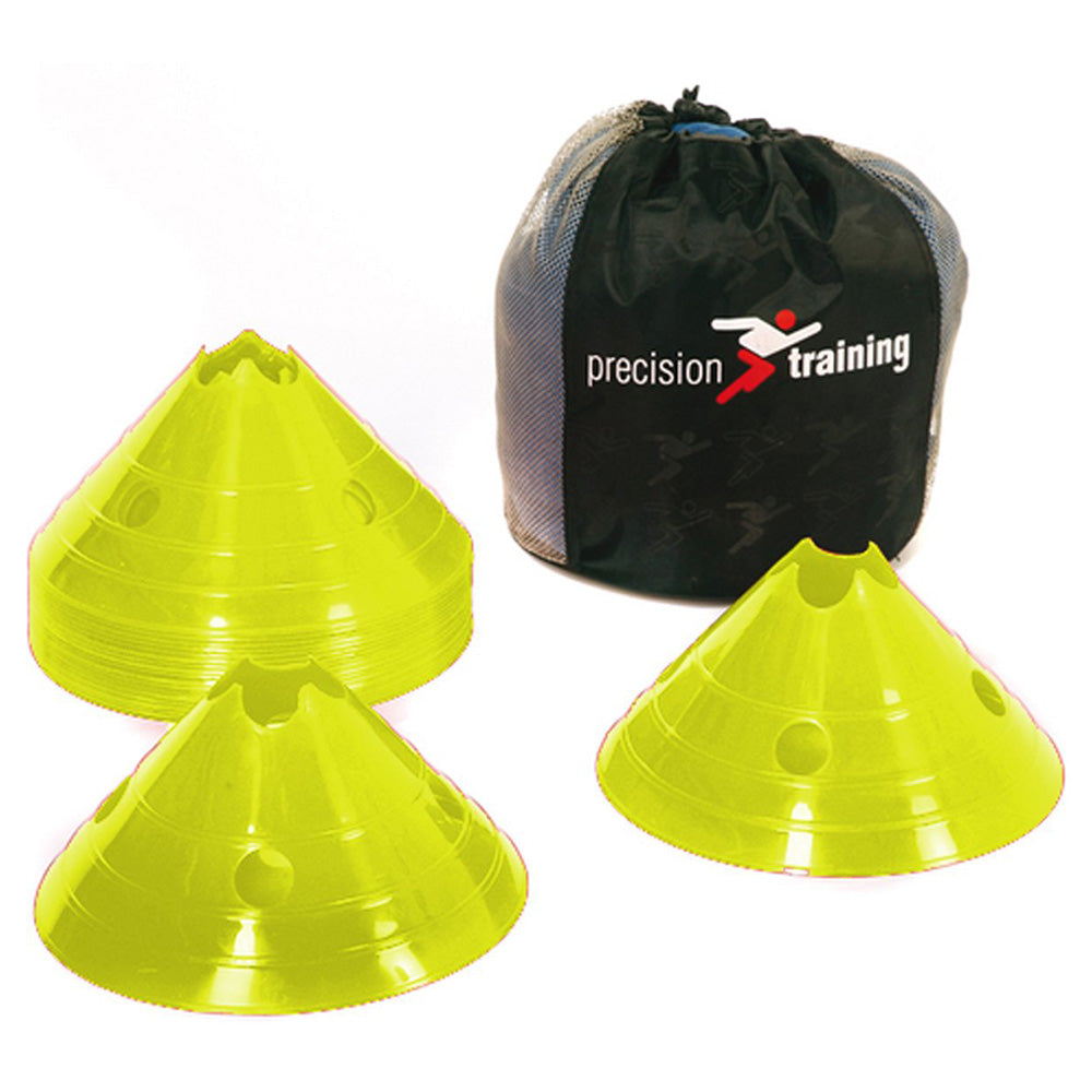 Precision Training Giant Saucer Cone Set (20) | Yellow Image McSport Ireland