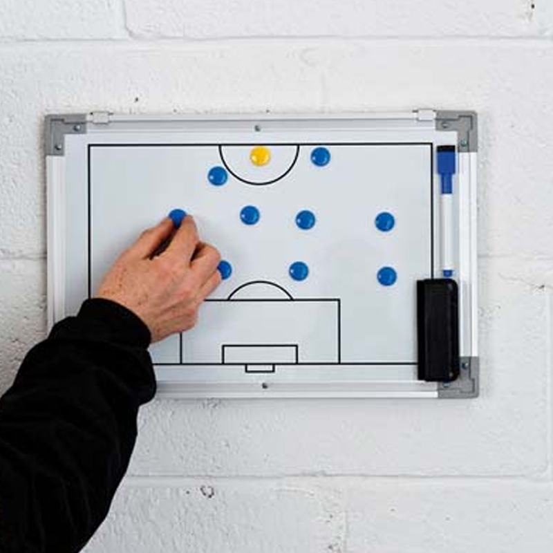 Precision Training Double-Sided Soccer Tactics Board (30x45cm) Image McSport Ireland