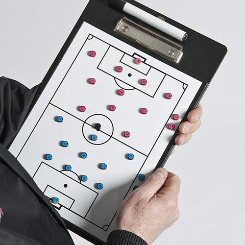 Precision Training Soccer Coaches Double-Sided Clipboard Image McSport Ireland