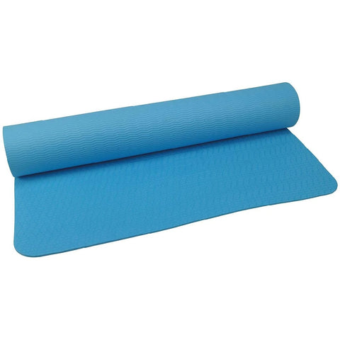 UFE 4mm TPE Yoga Mat | Blue Image McSport Ireland