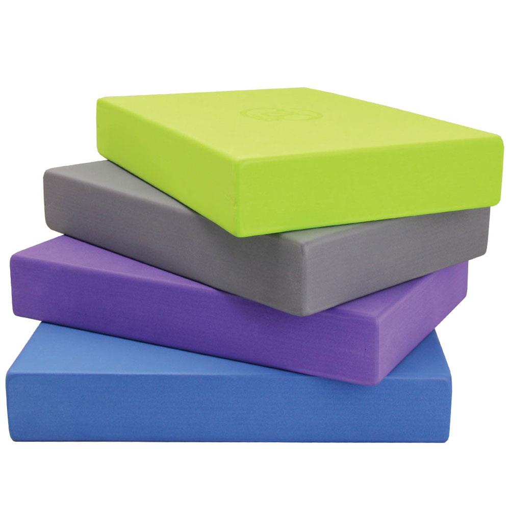 Fitness Mad Full Yoga Block | Purple