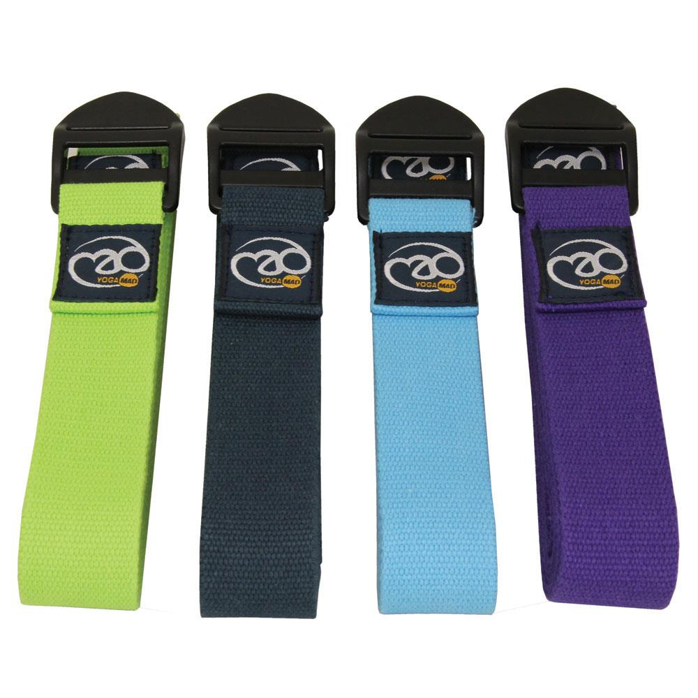 Fitness Mad Deluxe Cotton Yoga Belt 2.5m | Purple