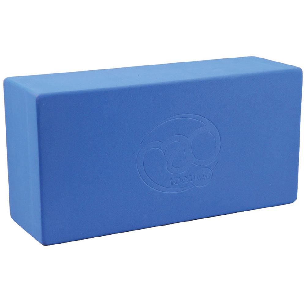 Fitness Mad Hi-Density Yoga Brick  | Blue Image McSport Ireland