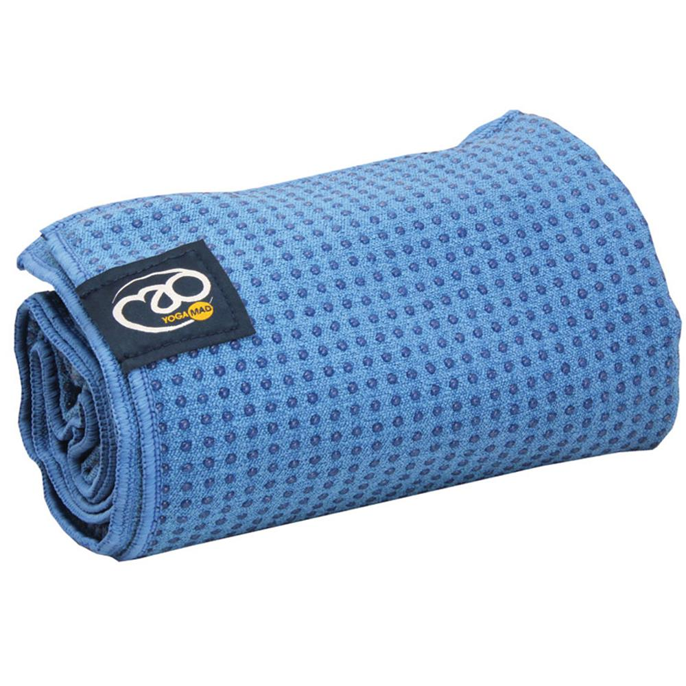 Fitness Mad Grip Dot Yoga Towel | Sky Blue