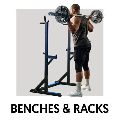 benches and racks banner