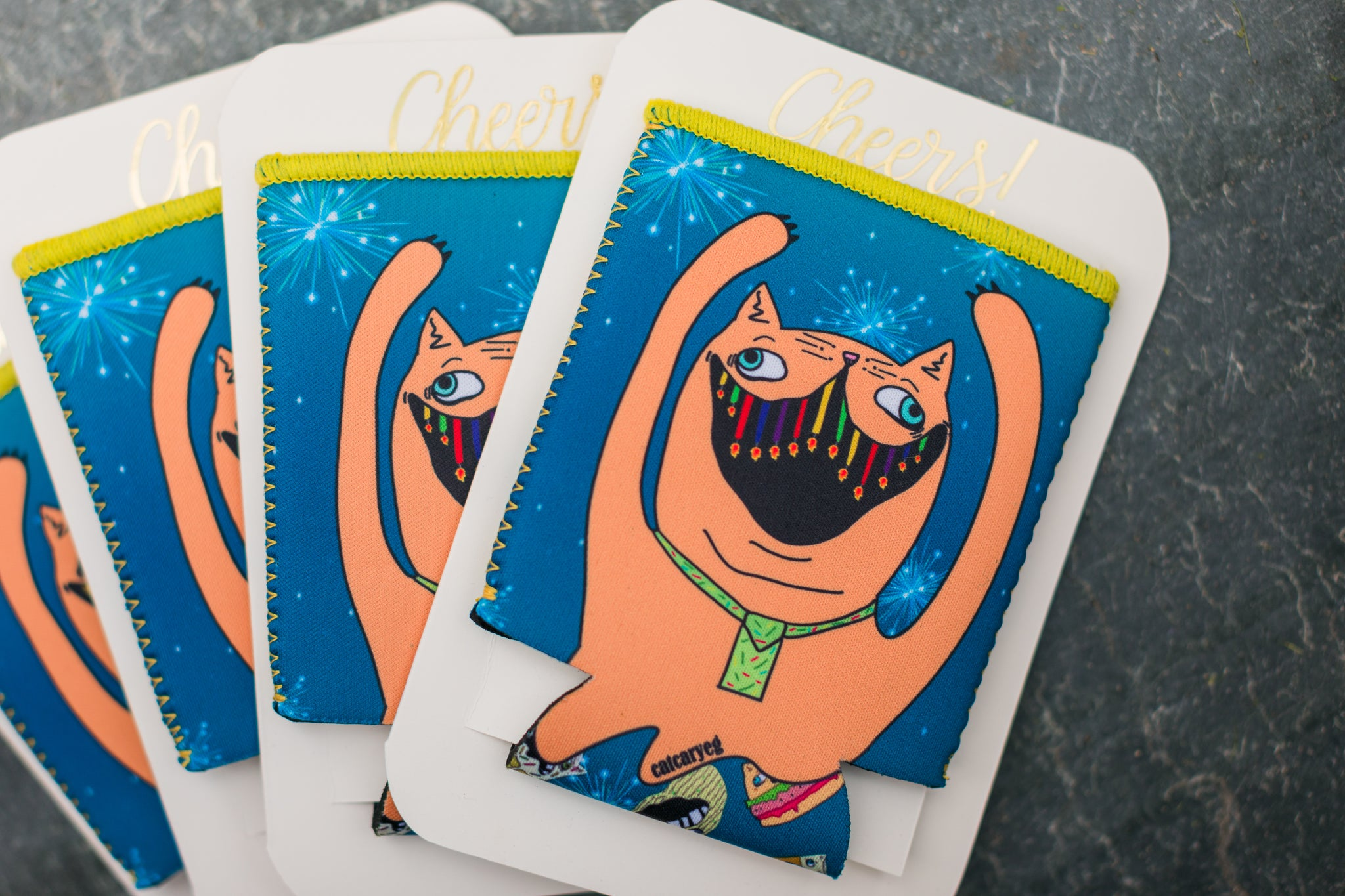 Party Cat Blazer Card
