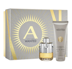 Azzaro Wanted Gift Set 50ml Edt + 100ml Hair And Body Shampoo