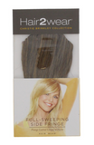 Full Sweeping Side Fringe Easy To Attach Clip On Hair Extension- Multiple Colours