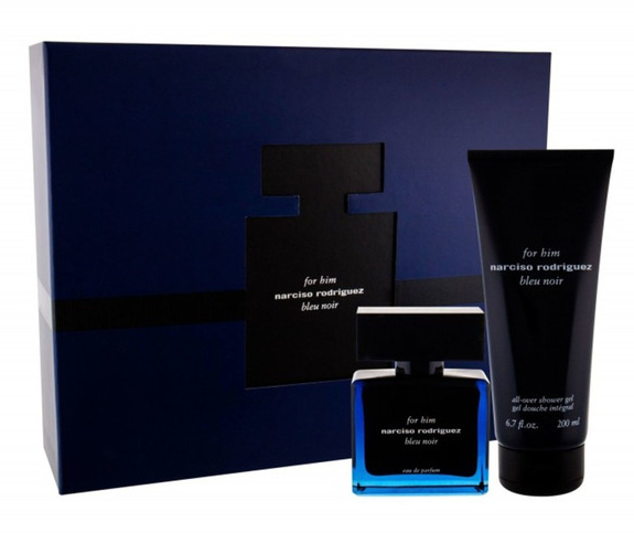 Narciso Rodriguez For Him Bleu Noir 50ml Edp Spray + 200ml Shower Gel Gift Set