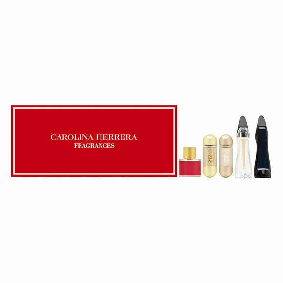 Carolina Herrera Fragrances Mini Perfume Gift Set 5 Pieces