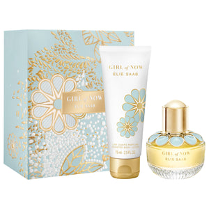 Elie Saab Girl Of Now Gift Set 30ml Edp + 75ml Scented Body Lotion