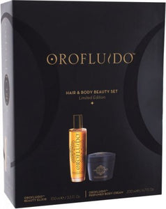Orofluido Hair & Body Gift Set Beauty Elixir 100ml + Perfumed Body Cream 200ml