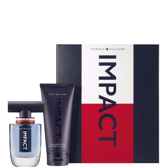 Tommy Hilfiger Impact Gift Set 50ml Edt + 100ml Hair + Bodywash