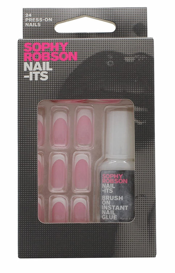 Sophy Robson 24 Press On False Nails With Glue - Multiple Designs