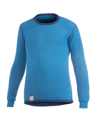 KIDS Crewneck 200, Dolphin Blue