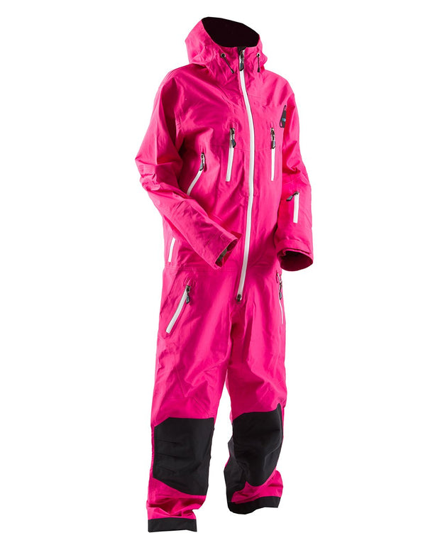 Ludo Mono Suit, Fuchsia Purple