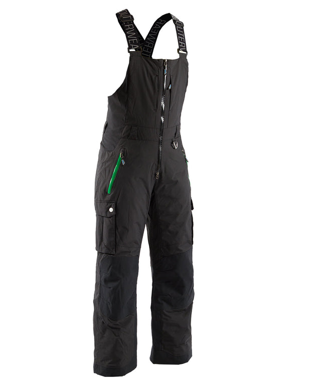 Tapar Insulated Bib, Jet Black