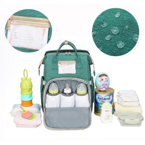 Backpack Diaper Changing Bed