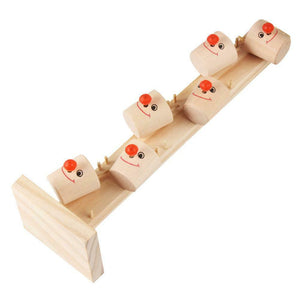 MarbleFun! Clown Wooden Tree Track