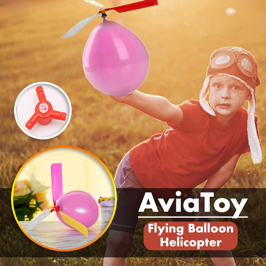AviaToy Flying Balloon Helicopter