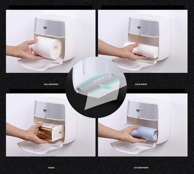 Toilet Paper Waterproof Storage Box